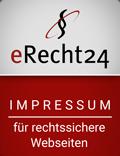 eRecht Siegel Impressum
